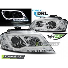 LPAU99 AUDI A3 8P 08-12 CHROME TUBE LIGHT TRU DRL