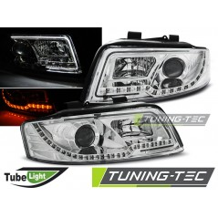 LPAUC2 AUDI A4 10.00-10.04 LED TUBE LIGHTS CHROME