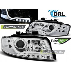 LPAUB2 AUDI A4 10.00-10.04 TUBE LIGHTS CHROME TRU DRL
