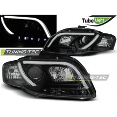 LPAU90 AUDI A4 B7 11.04-03.08 LED TUBE LIGHTS BLACK