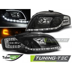 LPAUC5 AUDI A4 B7 11.04-03.08 LED TUBE LIGHTS BLACK