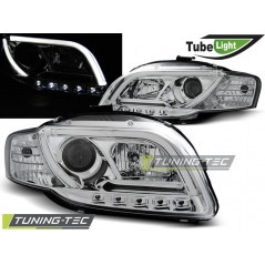 LPAU89 AUDI A4 B7 11.04-03.08 LED TUBE LIGHTS CHROME
