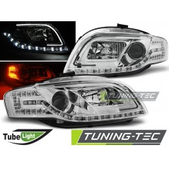 LPAUC4 AUDI A4 B7 11.04-03.08 LED TUBE LIGHTS CHROME