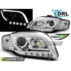 LPAUB4 AUDI A4 B7 11.04-03.08 TUBE LIGHTS CHROME TRU DRL
