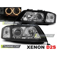 LPAU86 AUDI A6 10.99-06.01 ANGEL EYES BLACK XENON