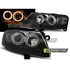 LPAU72 AUDI A6 C6 04.04-08 ANGEL EYES BLACK