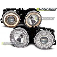 LPBM22 BMW E30 11.82-06.94 ANGEL EYES CHROME