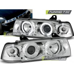 LPBM01 BMW E36 12.90-08.99 ANGEL EYES CHROME