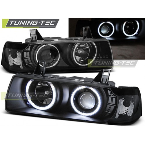 LPBM70 BMW E36 12.90-08.99 C/C ANGEL EYES BLACK