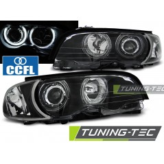 LPBMB7 BMW E46 04.99-03.03 COUPE CABRIO ANGEL EYES CCFL BLACK