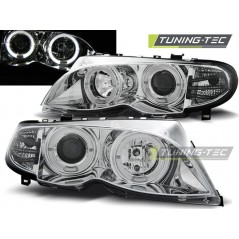 LPBM99 BMW E46 09.01-03.05 ANGEL EYES CHROME