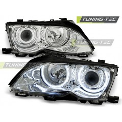 LPBM31 BMW E46 09.01-03.05 ANGEL EYES CHROME