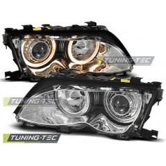 LPBM85 BMW E46 09.01-03.05 ANGEL EYES CHROME