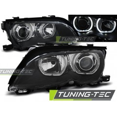 LPBMD8 BMW E46 09.01-03.05 ANGEL EYES LED BLACK