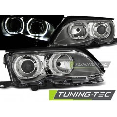 LPBMD7 BMW E46 09.01-03.05 ANGEL EYES LED CHROME