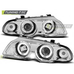LPBM38 BMW E46 05.98-08.01 ANGEL EYES CHROME