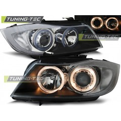 LPBM89 BMW E90/E91 03.05-08.08 ANGEL EYES BLACK