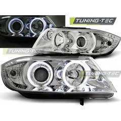 LPBM61 BMW E90/E91 03.05-08.08 ANGEL EYES CHROME CCFL