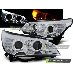 LPBMC0 BMW E60/E61 03-07 CHROME LED INDIC.
