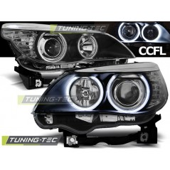 LPBM64 BMW E60/E61 03-07 ANGEL EYES BLACK