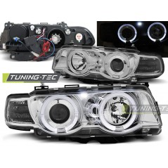 LPBM73 BMW E38 09.98-07.01 ANGEL EYES CHROME XENON