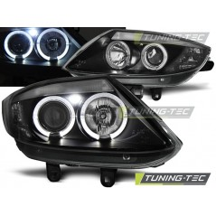 LPBM78 BMW Z4 E85 E86 02-08 ANGEL EYES BLACK