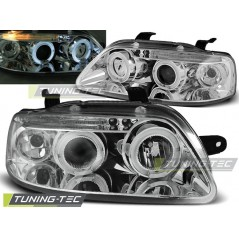 LPCT01 CHEVROLET AVEO 03-06 ANGEL EYES CHROME