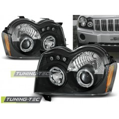 LPCH06 CHRYSLER JEEP GRAND CHEROKEE 05-08 ANGEL EYES BLACK