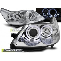 LPCI09 CITROEN C4 04-10 ANGEL EYES CHROME