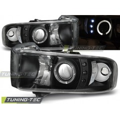 LPDO02 DODGE RAM 94-01 ANGEL EYES BLACK
