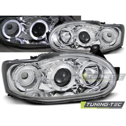 LPFO05 FORD ESCORT MK7 02.95-00 ANGEL EYES CHROME