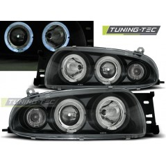 LPFO15 FORD FIESTA MK4 10.95-08.99 ANGEL EYES BLACK