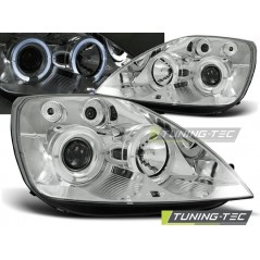 LPFO08 FORD FIESTA MK6 05.02-08.05 ANGEL EYES CHROME