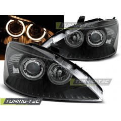 LPFO46 FORD FOCUS 11.01-10.04 ANGEL EYES BLACK