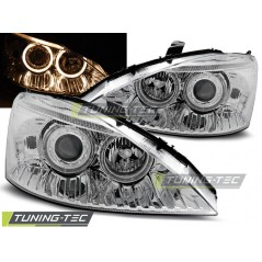 LPFO41 FORD FOCUS 10.98-10.01 ANGEL EYES CHROME