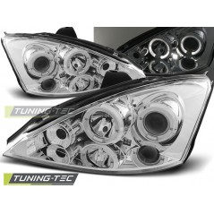 LPFO03FORD FOCUS 10.98-10.01 ANGEL EYES CHROME