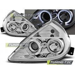LPFO11 FORD KA 11.96-08 ANGEL EYES CHROME