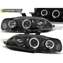 LPHO02 HONDA CIVIC 09.91-08.95 2D/3D ANGEL EYES BLACK