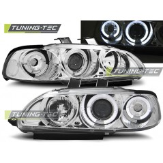 LPHO03 HONDA CIVIC 09.91-08.95 4D ANGEL EYES CHROME