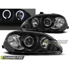 LPHO05 HONDA CIVIC 09.95-02.99 ANGEL EYES BLACK