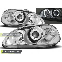 LPHO06 HONDA CIVIC 03.99-02.01 ANGEL EYES CHROME