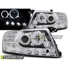 LPMI07 MITSUBISHI PAJERO V60 01-06 ANGEL EYES CHROME