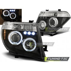 LPNI06 NISSAN NAVARA D40/PATHFINDER 05-10 ANGEL EYES BLACK