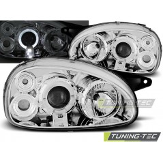 LPOP13 OPEL CORSA B 02.93-10.00 ANGEL EYES CHROME