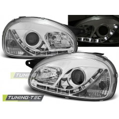 LPOP55 OPEL CORSA B 02.93-10.00 DAYLIGHT CHROME