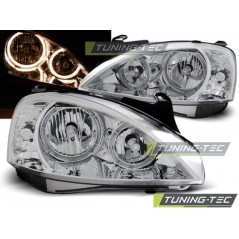 LPOP92 OPEL CORSA C 11.00-09.06 ANGEL EYES CHROME