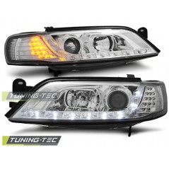 LPOP73 OPEL VECTRA B 11.96-12.98 DAYLIGHT CHROME LED INDICATOR