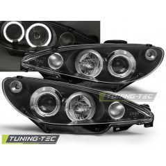 LPPE02 PEUGEOT 206 10.98-02 ANGEL EYES BLACK