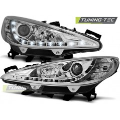 LPPE22 PEUGEOT 207 05.06-06.09 DAYLIGHT CHROME