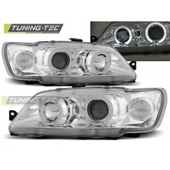 LPPE08 PEUGEOT 306 02.93-04.97 ANGEL EYES CHROME